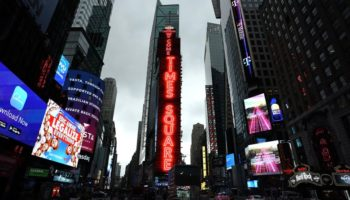 Why A Giant Hindu Deity Is Appearing In Times Square