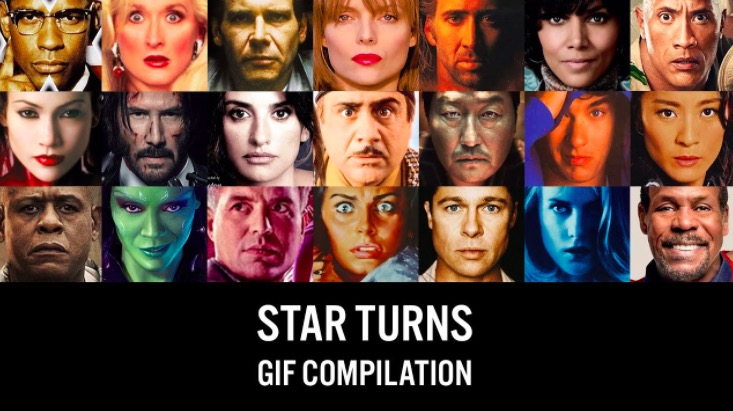 Animator Makes The Heads Of Actors Appear To...