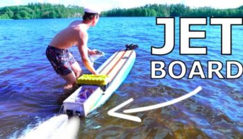 Bro Builds A 10000W Electric Surfboard From Scratch