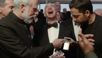 Jeff Bezos Explodes In Maniacal Laughter After Being Fooled By David Blaine's Magic Tricks