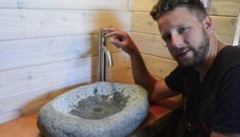 Watch This Guy Carve A Sink Out Of A Rock In Under Four Hours