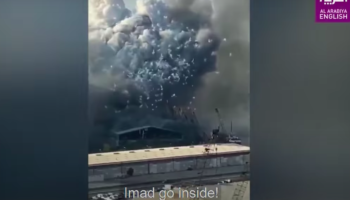 This Is The Closest Footage Taken Near The Beirut Explosion
