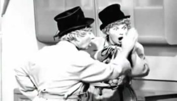 Lucille Ball And Harpo Marx Recreating The Mirror Scene From 'Duck Soup' Is A Genuine Delight