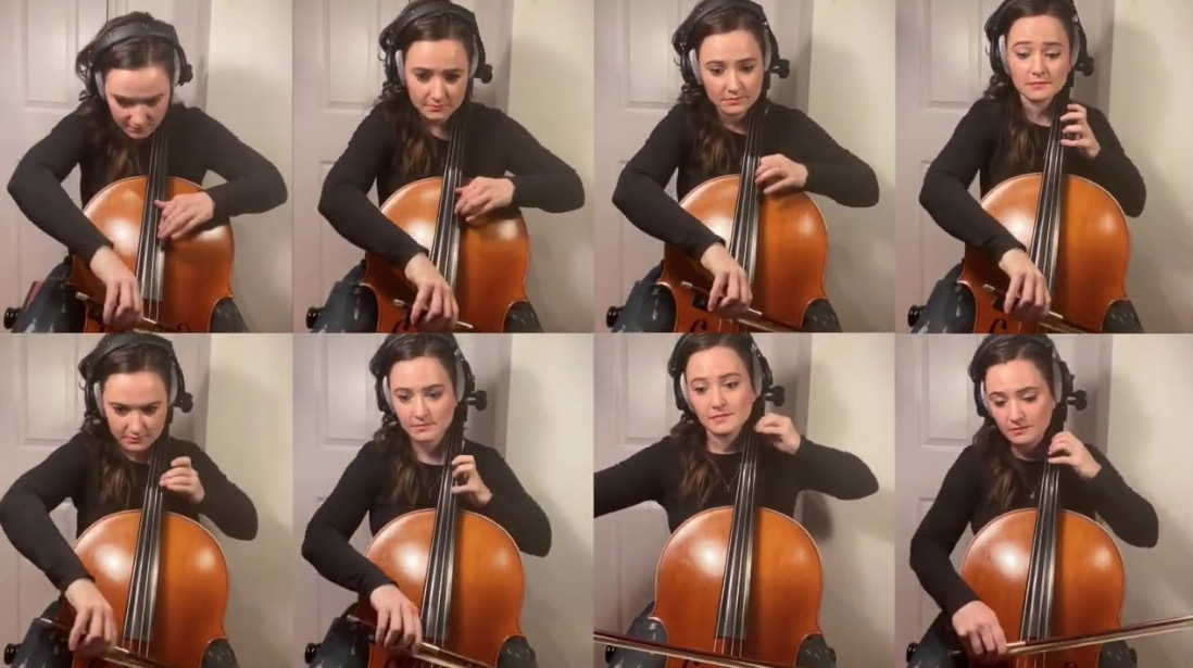 This Cellist Performed The Theme To `Ducktales` On...