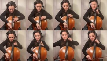 This Cellist Performed The Theme To 'Ducktales' On Eight Cellos And It Might Be The Most Delightful Thing You See Today