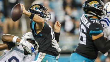 Have The Jacksonville Jaguars Backslid To Being The NFL's Worst Team Again?