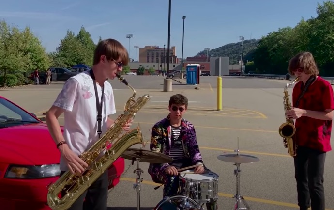 Saxophonists Base An Entire Song Off Of A...