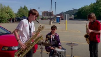 Saxophonists Base An Entire Song Off Of A Car Alarm