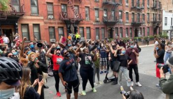 The NYPD Banged On A Black Lives Matter Organizer's Door, Shut Down His Street, Stayed For 5 Hours, Then Left