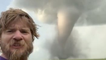 Extreme Storm Chaser Gets Terrifyingly Close To The Path Of A Tornado
