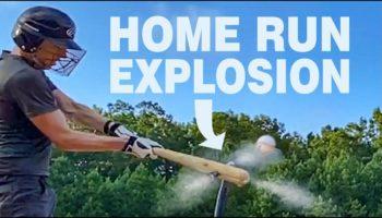 Man Builds A Baseball Bat That Almost Always Hits Home Runs