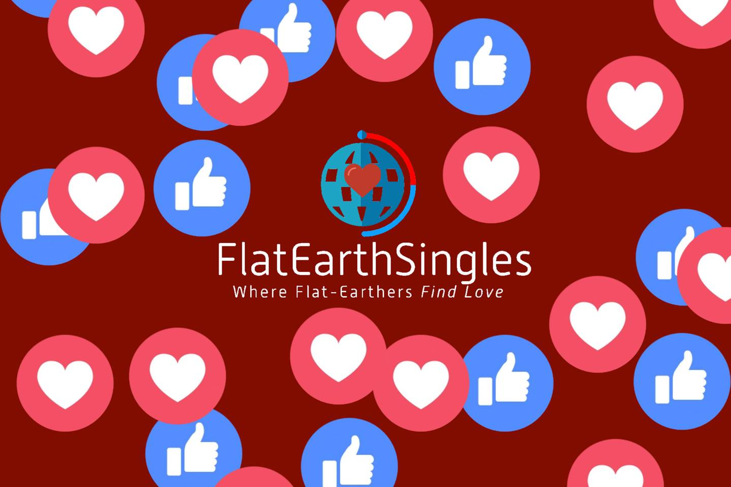 How Do You Find Love When You Believe The Earth Is Flat?