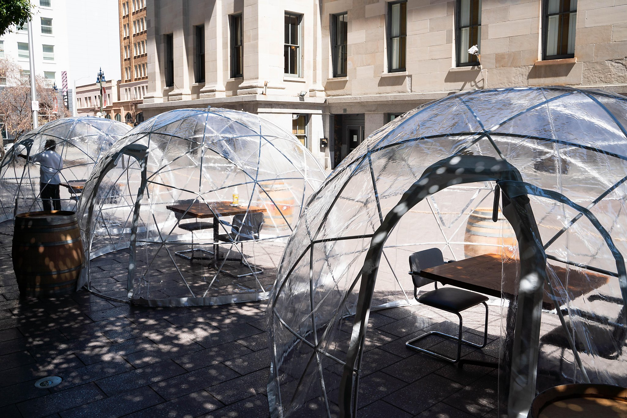 The $200-Per-Person Fine Dining Dome Is America's Problems In A Plastic Nutshell