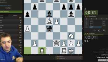 Watch This Chess Master Turn A Mistake Into A Brilliant Move During A Live Tournament