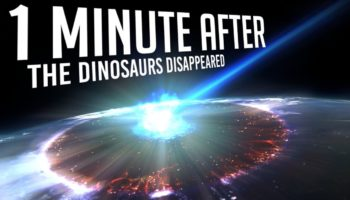 What Happened One Minute After An Asteroid Hit The Earth And Wiped Out The Dinosaurs?