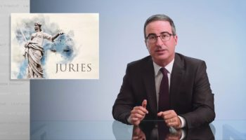 John Oliver Breaks Down What Is Wrong With America's Jury System