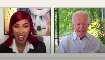 Cardi B Talks To Joe Biden About What She Wants For A President