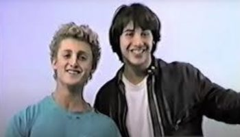 Here's Keanu Reeves And Alex Winter's Original Audition Tape For 'Bill And Ted's Excellent Adventure'