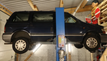 Here's Everything Wrong With The $600 Diesel Manual Chrysler Minivan That I Bought Sight Unseen In Germany