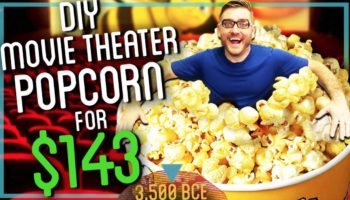 Here's How To Make Movie Theater Quality Popcorn From Scratch