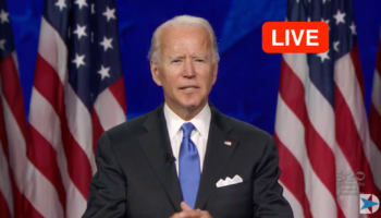 Watch Joe Biden Speak During The Final Night Of The Democratic National Convention