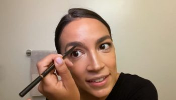 Alexandria Ocasio-Cortez Reveals Her Beauty Routine Before Going To Work In Congress