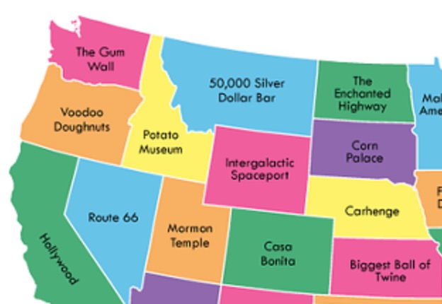 The Worst Tourist Attraction In Every State In America, Visualized - Digg