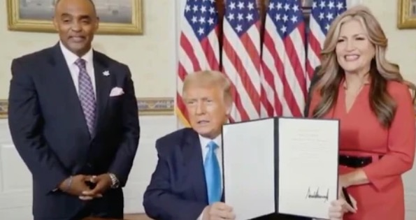 Trump Just Handed Out A Presidential Pardon On TV