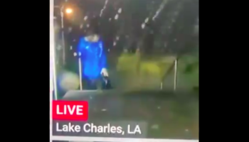 Weather Channel Reporter Reports On Hurricane Laura, Nearly Gets Hit By Flying Debris