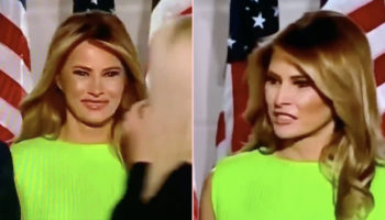 Melania Trump's Look At Ivanka At The RNC Was Something Else