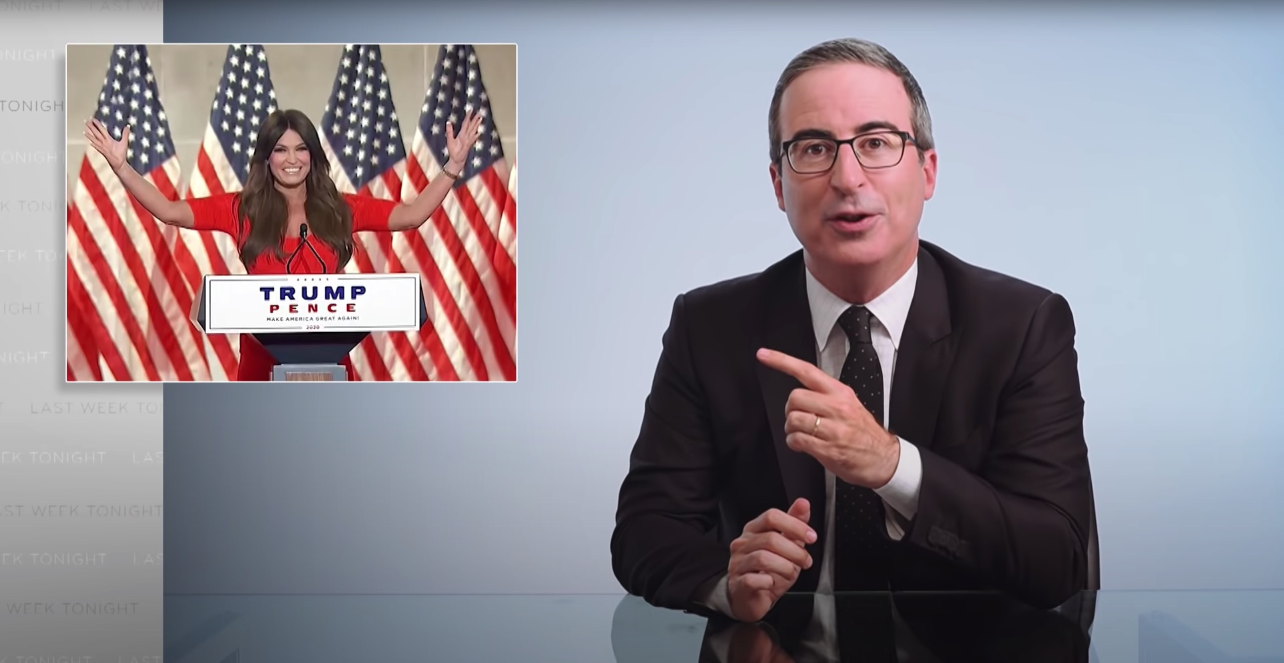 John Oliver Points Fingers At The Media While Addressing The Kenosha Situation