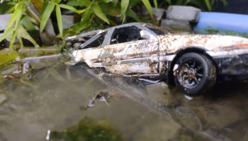 Someone Discovered A Destroyed Toyota AE86 Initial D Model Car And Fully Restored It To Its Former Glory