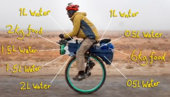 Here's What It Takes To Unicycle On The World's Loneliest Road