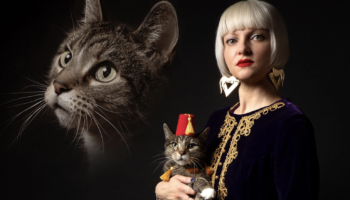 1980s-Style Portraits Of Pets And Their Humans