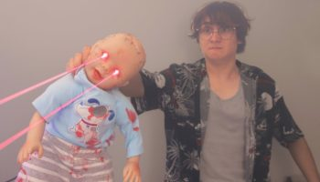 Engineer Builds Freaky Baby Doll That Shoots Lasers Out Of Its Eyes