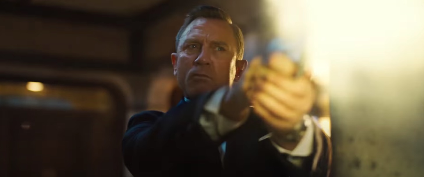 Daniel Craig Makes His Final Appearance As James Bond In New 'No Time To Die' Trailer
