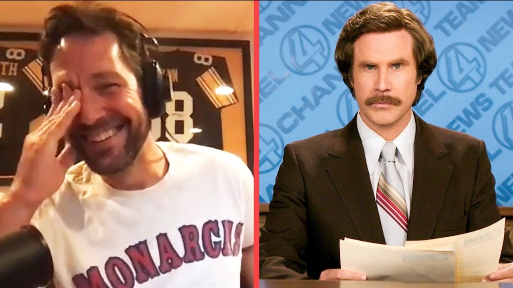NSFW News - Paul Rudd Shares A Hilariously NSFW Story About Will Ferrell From 'Anchorman 2' That Cracked Up The Entire Crew thumbnail