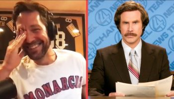 Paul Rudd Shares A Hilariously NSFW Story About Will Ferrell From 'Anchorman 2' That Cracked Up The Entire Crew