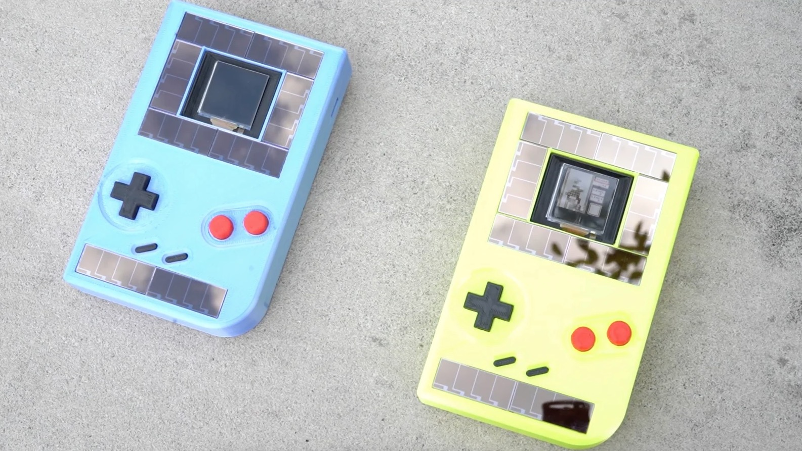 Engineering Students Built A Game Boy That Runs On Solar Power
