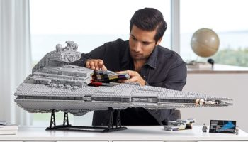 We Want This Lego Star Destroyer So Badly