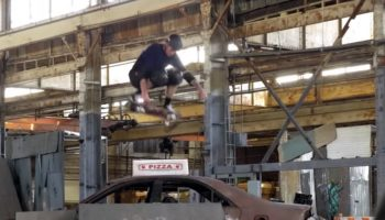 Here's Tony Hawk Skating The Warehouse Level From 'Tony Hawk Pro Skater' In Real Life