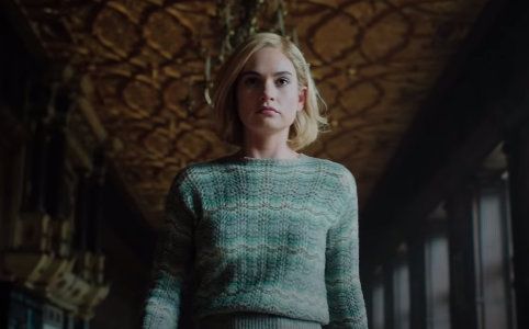 Lily James Is Haunted By The Ghost Of Her Husband's Former Wife In 'Rebecca' Trailer