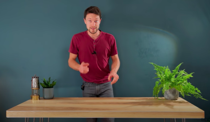 Incredibly Handy Guy Builds An 'Invisible' PC Out Of A Table