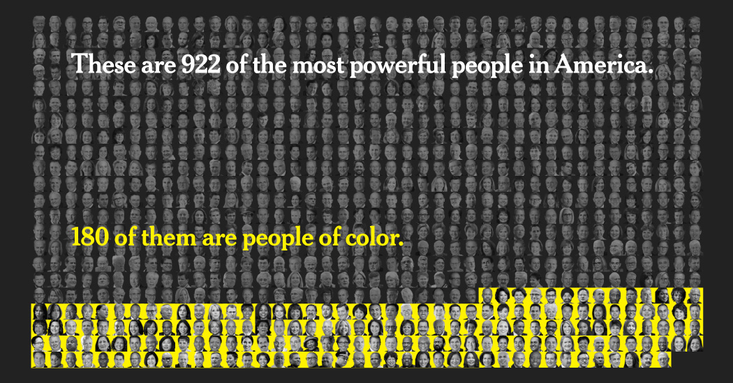 Faces Of Power: 80% Are White, Even As US Becomes More Diverse