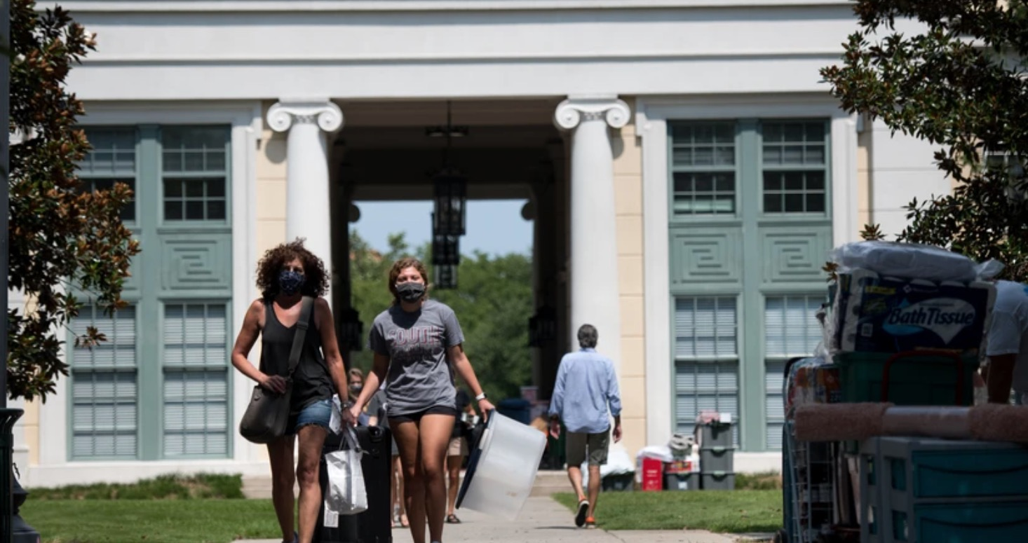 No WiFi, No AC: Inside The Chaos Of 1,400 COVID Cases At One College