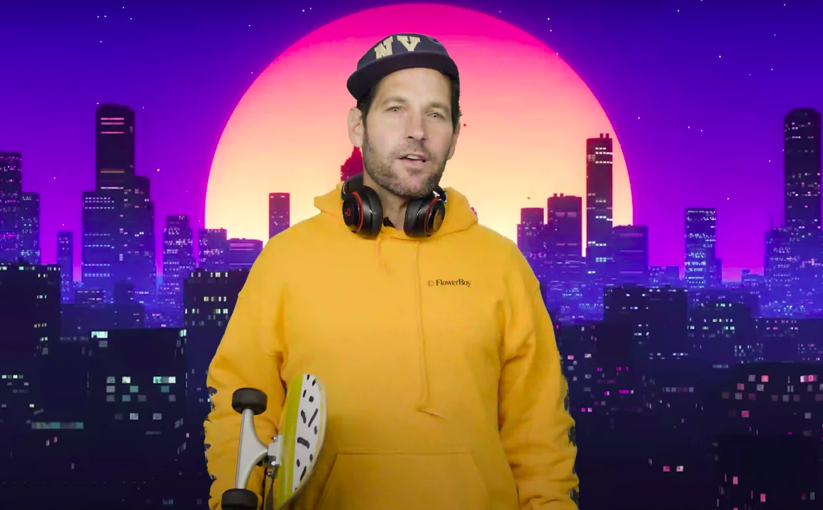 Paul Rudd Pretends To Be 26-Years-Old To Ask Millennials To Wear Masks