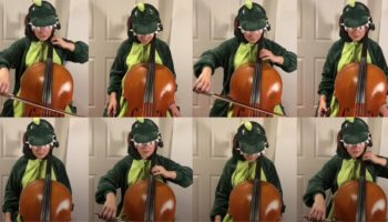 Cellist Performs The 'Jurassic Park' Theme In The Grand Majestic Way It Was Meant To Be Performed On Eight Cellos