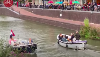 Watch A Busy Street In Utrecht Be Transformed Into A Canal