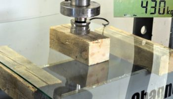 Someone Used A Hydraulic Press To Demonstrate The Strength Of Hardened Glass