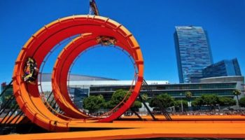 The X Games Peaked When They Built A 60-Foot Hot Wheels Double Dare Loop  Ramp